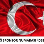 Ersağ sponsor numarası 405870
