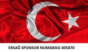 ersağ sponsor numarası
