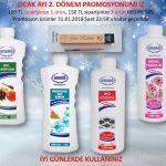 Ersağ Ocak ayı ikinci dönem promosyon ürünleri