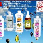 Ersağ Nisan ayı 1.yarı avantaj paketi (indirimli) ve promosyon (hediye) ürünleri