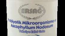 Ersağ Probiyotik Mikroorganizma ve Ascophyllum Nodosum