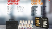 Ersağ Parfüm / Seyahat / Tanıtım Tester Çantası